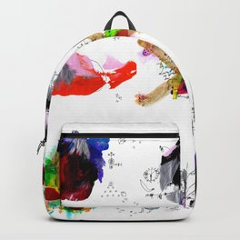 9 abstract rituals Backpack