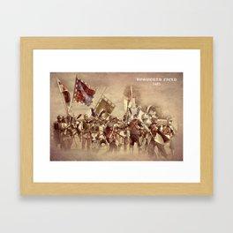 Battle of Bosworth Framed Art Print