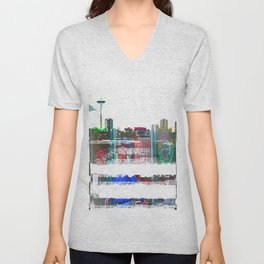 Gyros of Seattle Unisex V-Neck