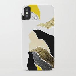 golden earth iPhone Case