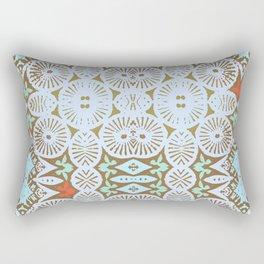 artisanal: tribal two Rectangular Pillow