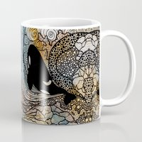 killer whale Mugs featuring Killer Whale by Nemki
