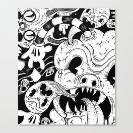 More and more Junk Canvas Print