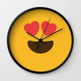 Love Face Wall Clock