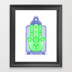 la buena suerte Framed Art Print
