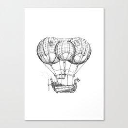 Airship 1 Canvas Print