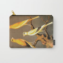 Orange Canaries  Carry-All Pouch