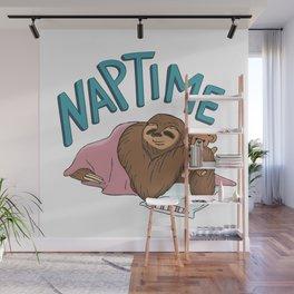 Nap Time Sloth Wall Mural