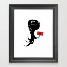 Squid of No Framed Art Print