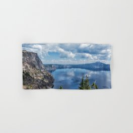 Crater Lake from the North Rim, No. 2 Hand & Bath Towel