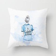 Adidas Girl Throw Pillow