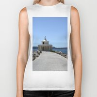 lighthouse Biker Tanks featuring Lighthouse by L'Ale shop