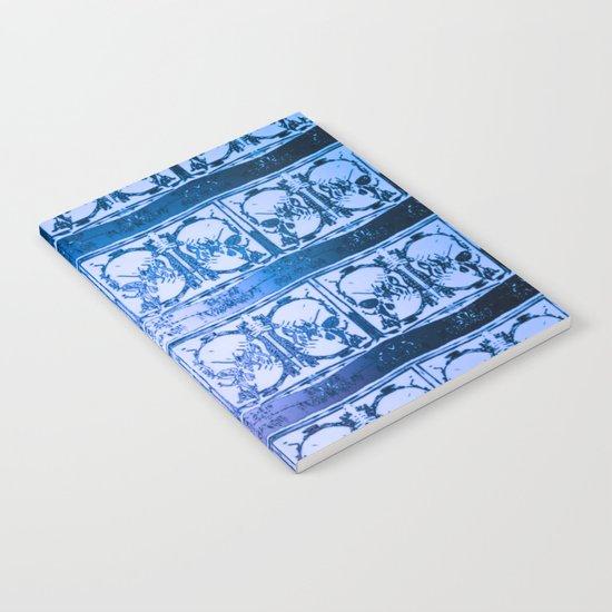 Ice Sword Skulls Notebook