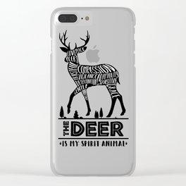 Spirit Animals: The Deer Clear iPhone Case