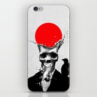 splash iPhone & iPod Skins featuring SPLASH SKULL by Ali GULEC