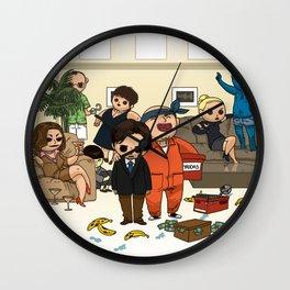 Tribute Wall Clock