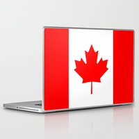 canada Laptop & iPad Skins featuring Canada by McGrathDesigns