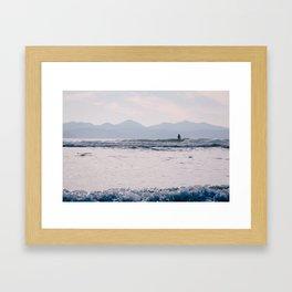 Jordan River, BC Framed Art Print
