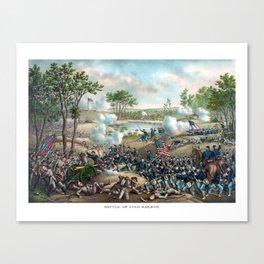 Battle of Cold Harbor -- Civil War Canvas Print