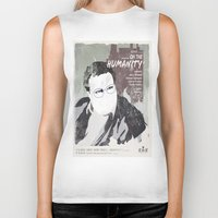 seinfeld Biker Tanks featuring For Seinfeld Fans pt.3 by Alain Cheung