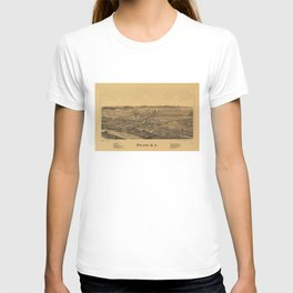 Aerial View of Poland, New York (1890) T-shirt