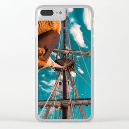 El Galeón Clear iPhone Case
