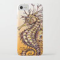 seahorse iPhone & iPod Cases featuring Seahorse by TAOJB