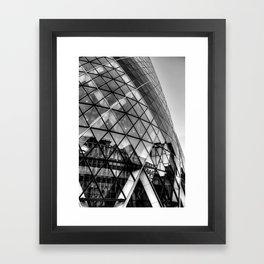 The Gherkin, London Framed Art Print