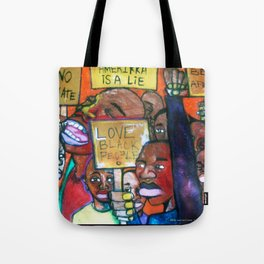 2006 Only We Can Save We Tote Bag