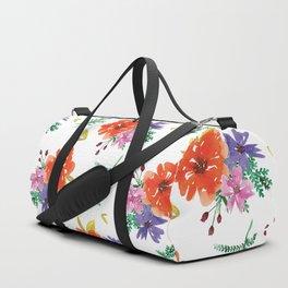 Flower Pattern #2 Duffle Bag