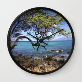 Hawaii 1 of 2 Wall Clock
