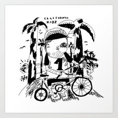 California Kidz Art Print