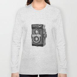 Yashica Vintage Camera Long Sleeve T-shirt