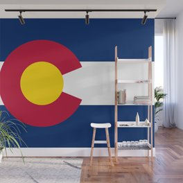 Flag of Colorado Wall Mural
