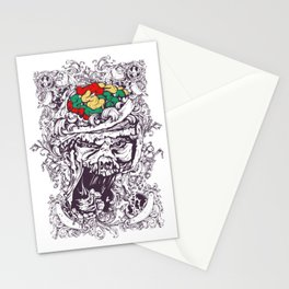 Skull with Brain OUT Stationery Cards