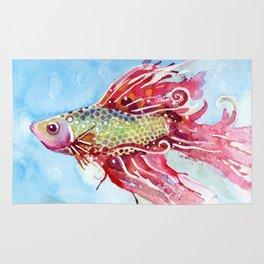 Fish Swim Rug