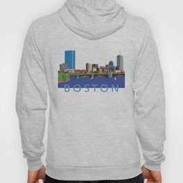 Back Bay Boston Skyline Hoody