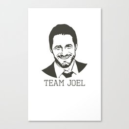 Team Joel Canvas Print