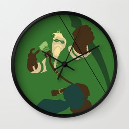 Oliver Queen Wall Clock