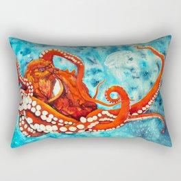 Pacific Octopus Rectangular Pillow