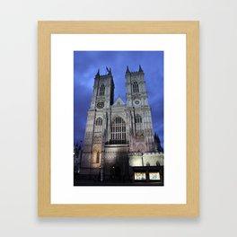 Westminster Abbey I Framed Art Print