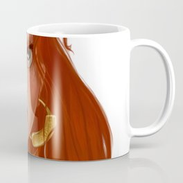 The Girl With Red Hair  Coffee Mug