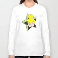 tinker bell Long Sleeve T-shirts featuring I Am Smart - Tinker Bell by AmadeuxArt