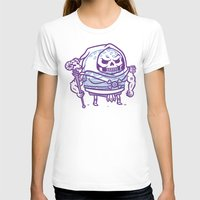 skeletor T-shirts featuring Cheeseburger Skeletor by Philip Tseng