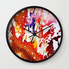 Polychromoptic #1A Wall Clock
