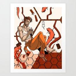 Morning on the Daedalus: Oren Art Print