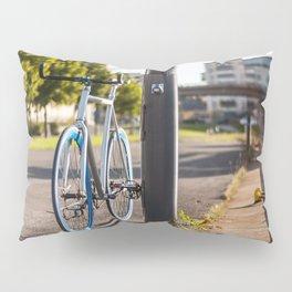 Bike on Harbor 3 Pillow Sham