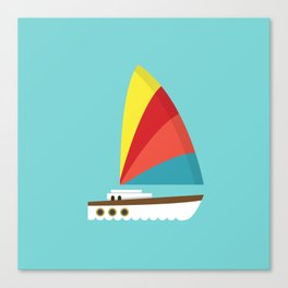 Sailboat II Canvas Print