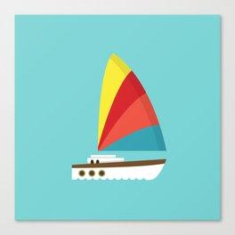 Sailboat II Canvas Print