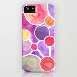 Atomic Planetary iPhone Case